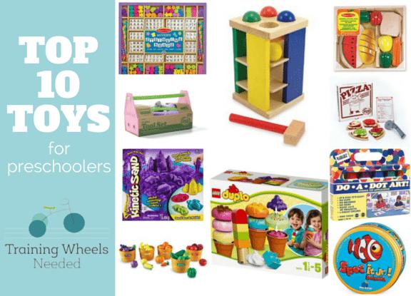 Top 10 Toys for Preschoolers