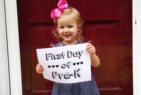 Make First Day of School Photo Memories: Show Off the First Day of School on Facebook & Instagram!
