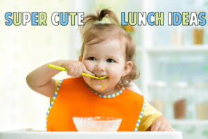 Cute Kid Lunch Ideas