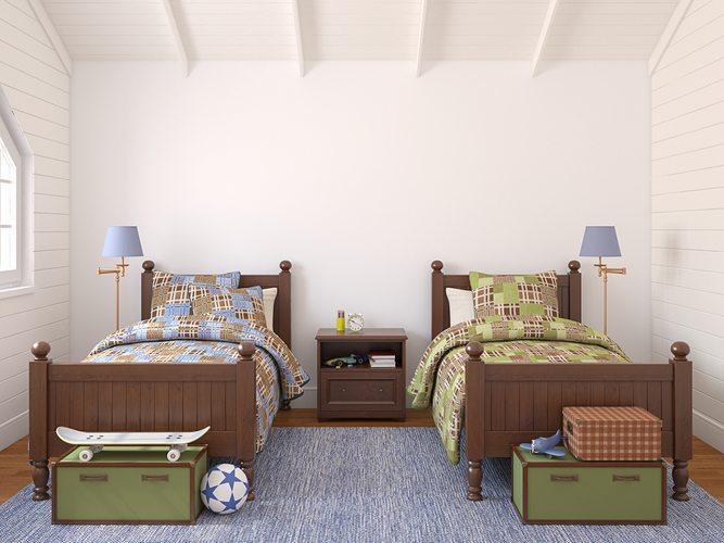 Sharing is Caring: Bedrooms Between Siblings