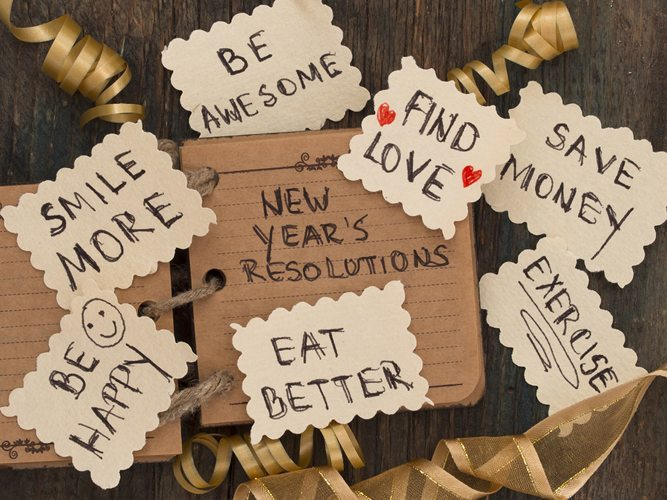 Happy New Year! Let's Make (and break) Some Resolutions Together!