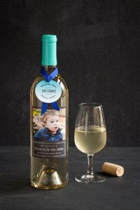 Teacher gift: customized wine bottle label