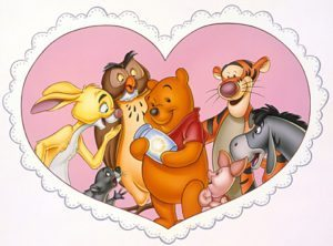 WINNIE THE POOH: A VALENTINE FOR YOU -- This delightful special will air Saturday, February 10 (8:30-9:00 p.m., ET), on the ABC Television Network. (© DISNEY)