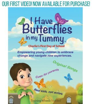 Butterflies In My Tummy Poster