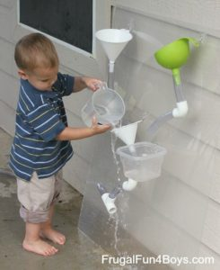 Water wall game