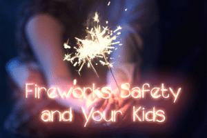 fireworks safety for kids