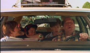 Pete and Pete in the Station Wagon during a Road trip