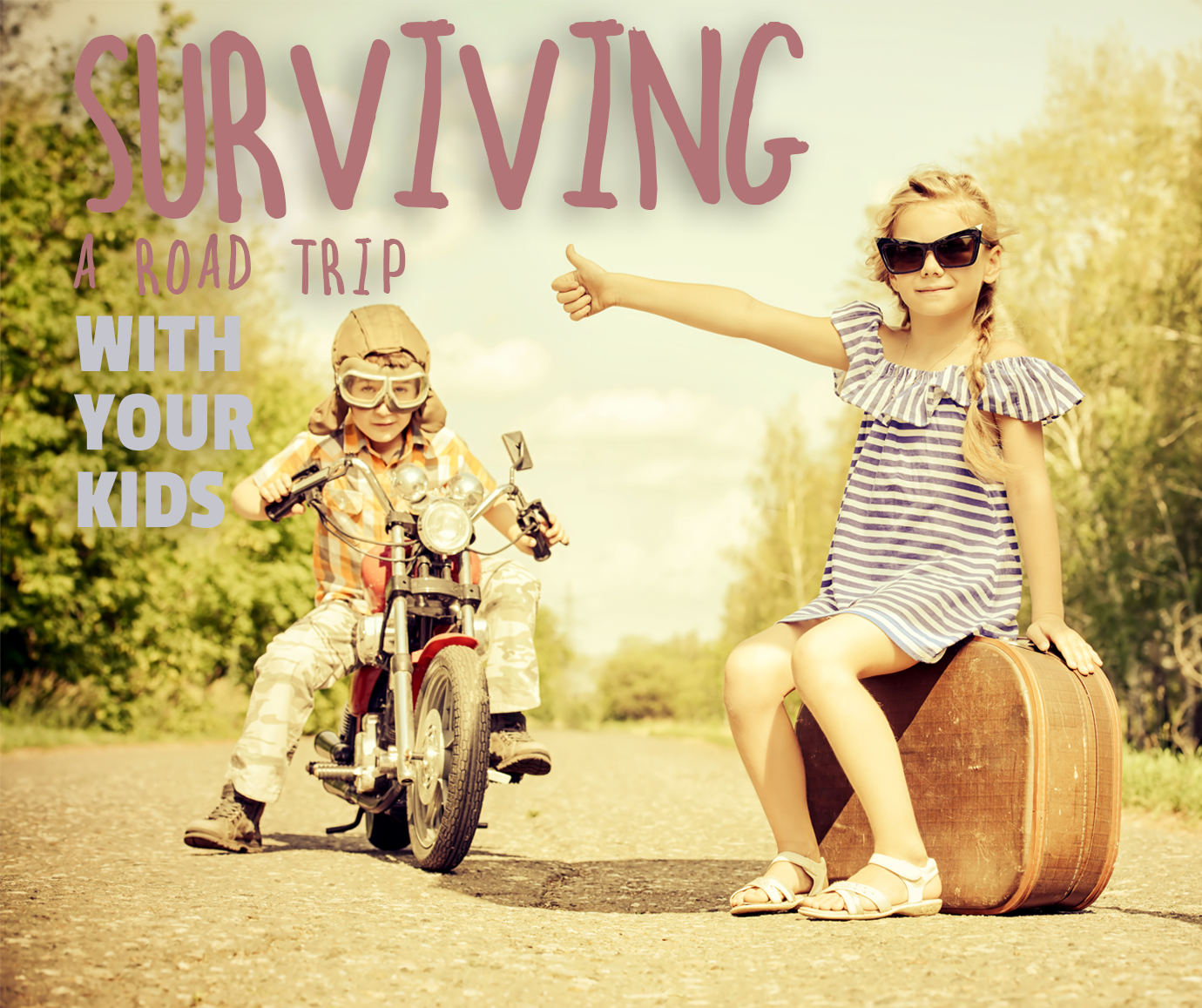 How to Survive a Road Trip With Kids Aged 2-5