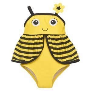 Toddler Bumble Bee Swimsuit
