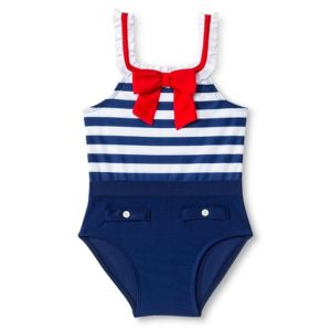 Toddler Sailor Swimsuit
