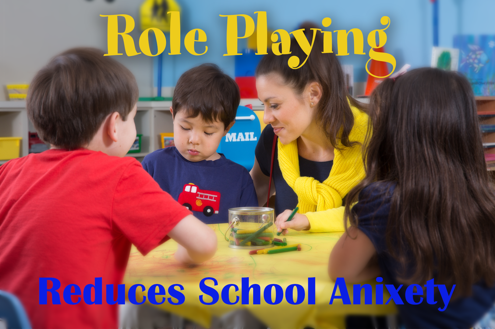 Use Role Playing To Relieve School Anxieties In Your Child