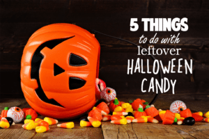 5 things to do with leftover halloween candy