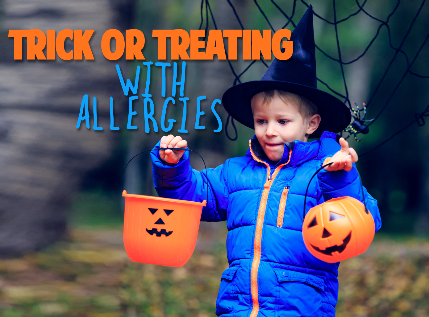 Trick or Treating with Allergies